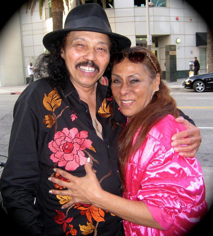 Melvyn Jones met his partner Pamela Hill outside a Los Angeles club, the Mint.   Facebook