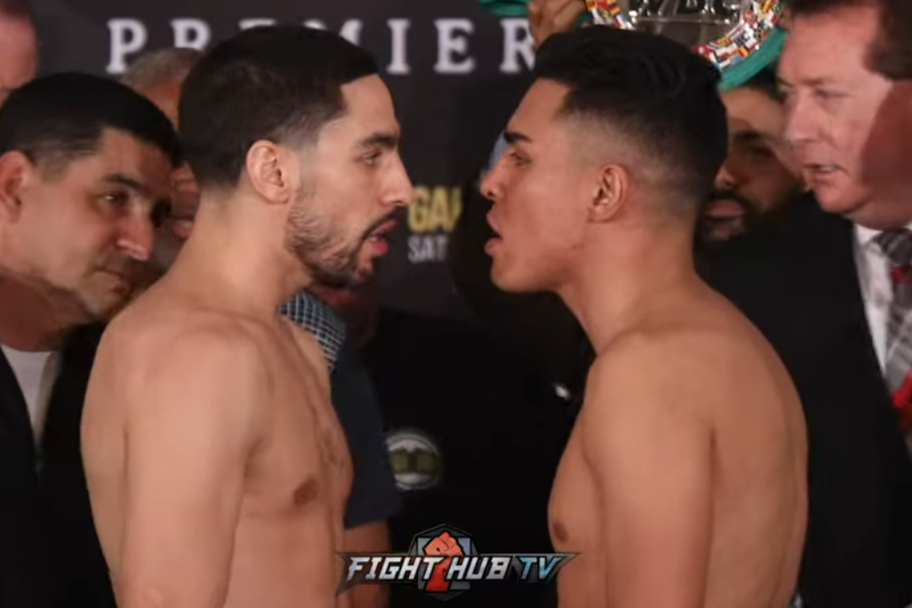 Screen Shot 2019 04 19 at 4.35.33 PM  2 .0 - Garcia, Granados make weight, get heated on the stage