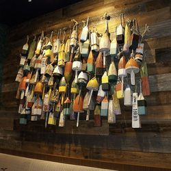 More fishing lures as art.