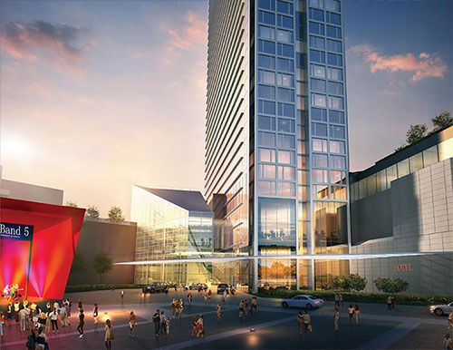 While No Timeline Has Been Announced For The Hotel S Construction Report Containing Renderings Is Dubbed 2020 Vision Hinting That Goal Might