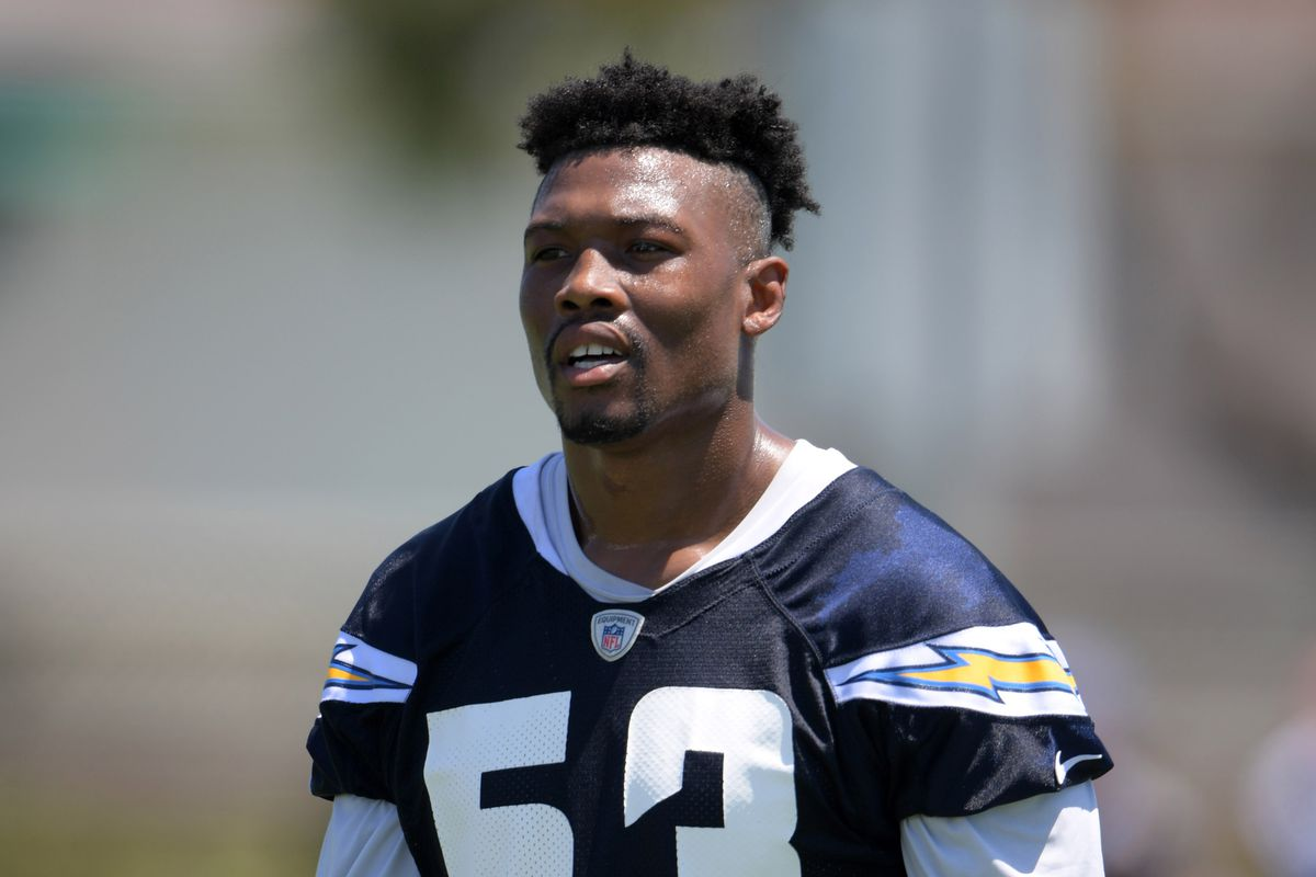 Los Angeles Chargers Waive Linebacker Joshua Perry Bolts