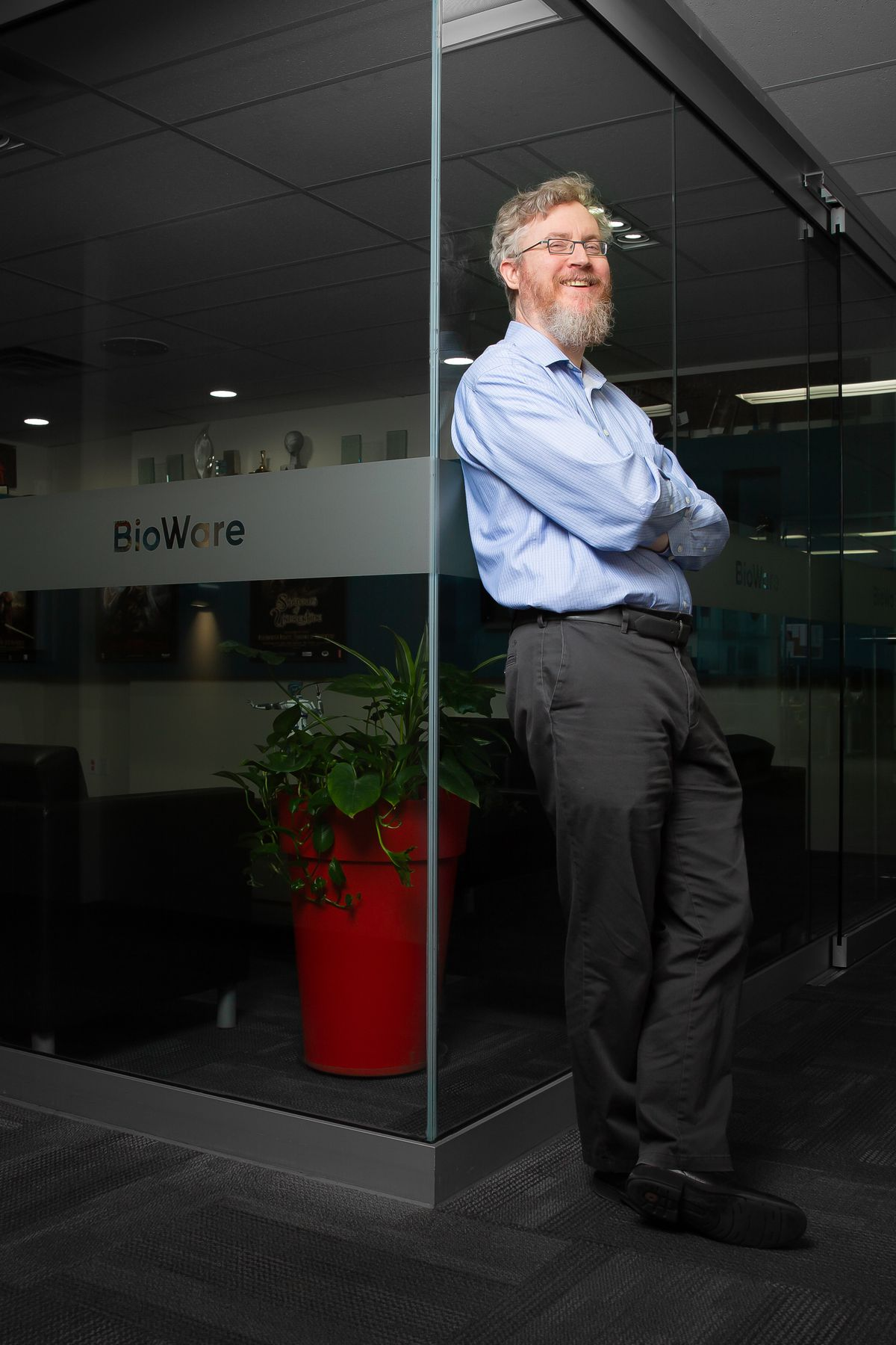 photo of BioWare's Mark Darrah
