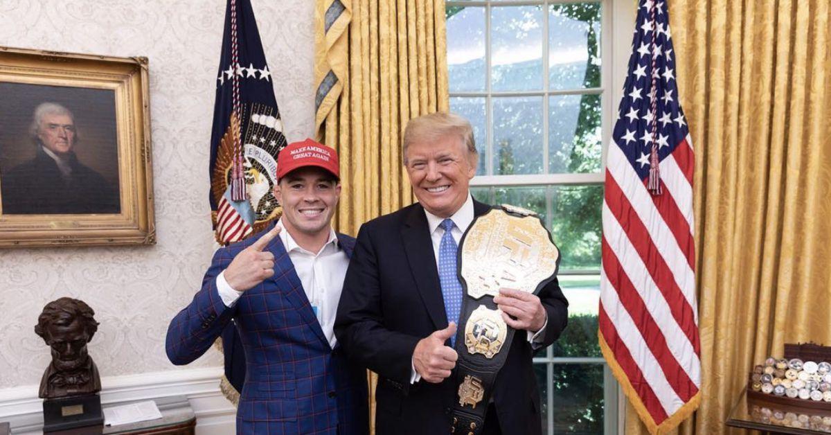 President Donald Trump calls Colby Covington following UFC Vegas 11 win: 'I'm proud of you'