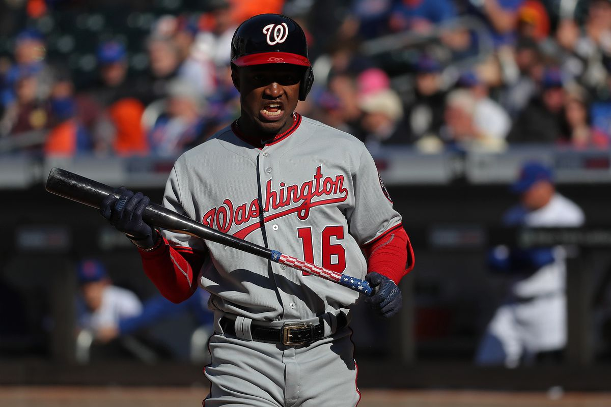 Washington Nationals' lineup for today's series finale with the New York Mets...