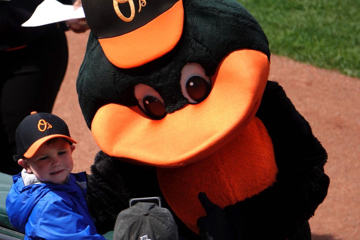MLB: APR 11 Athletics at Orioles