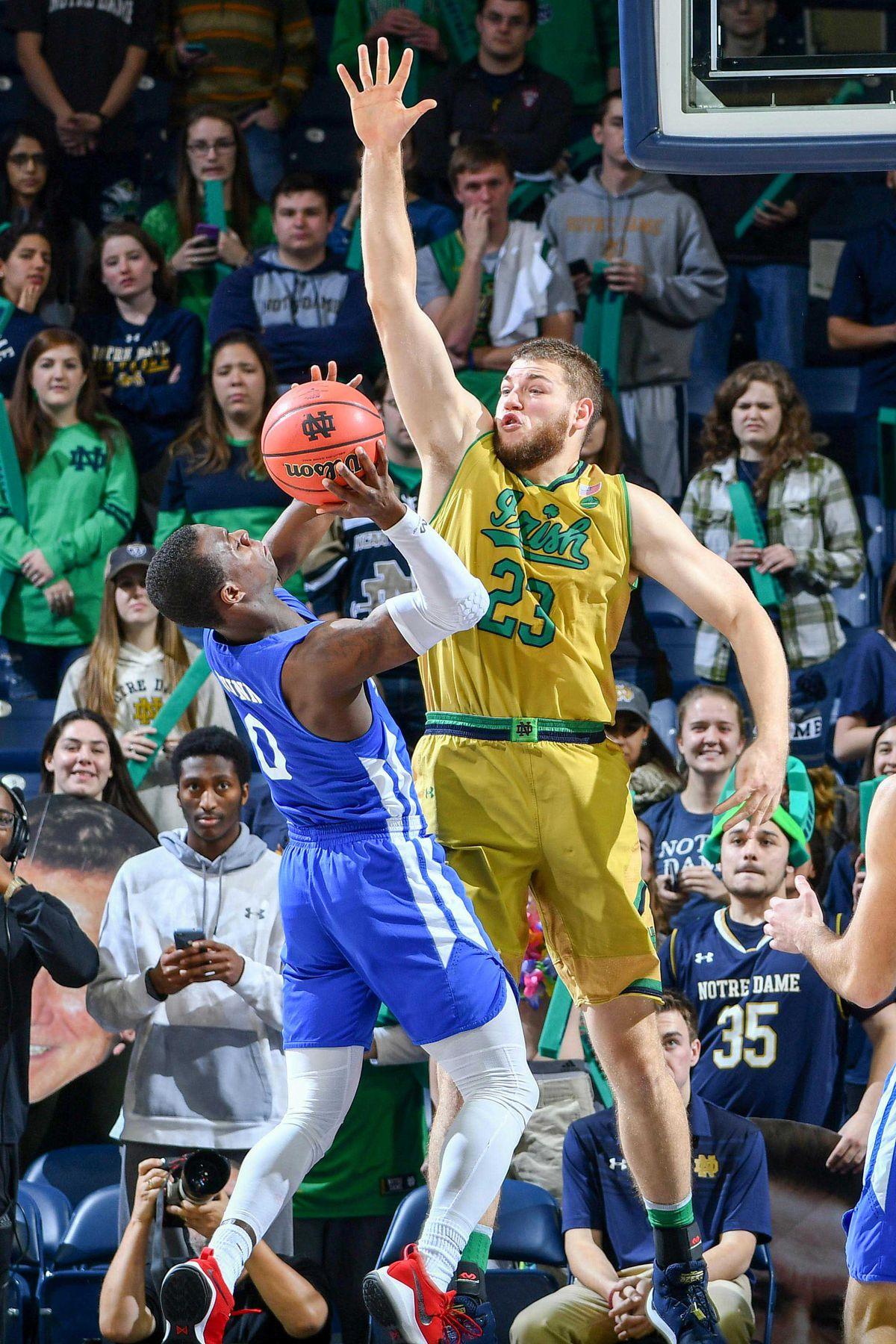 NCAA Basketball: St. Francis-NY at Notre Dame