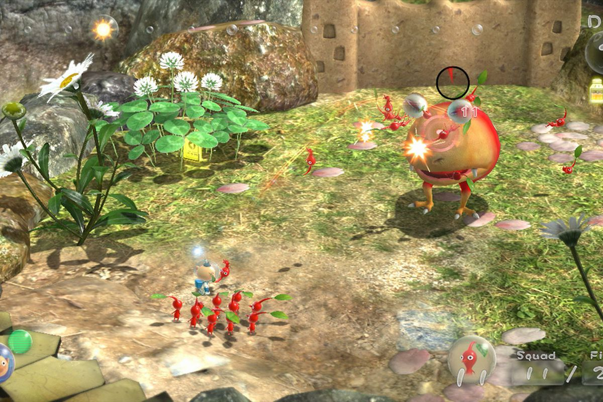 Pikmin 3 Gets New Battle Stages Dlc Today Polygon