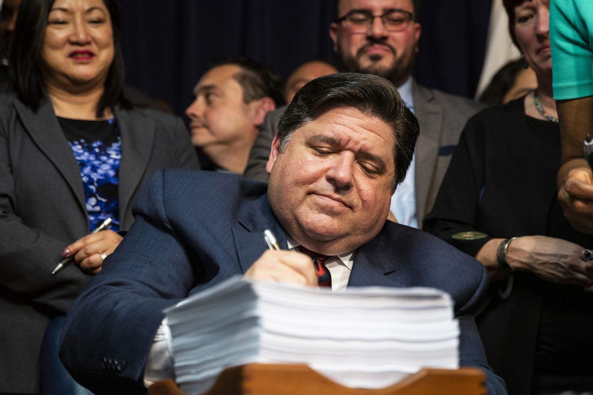 Gov. J.B. Pritzker signs revenue and budget implementation legislation