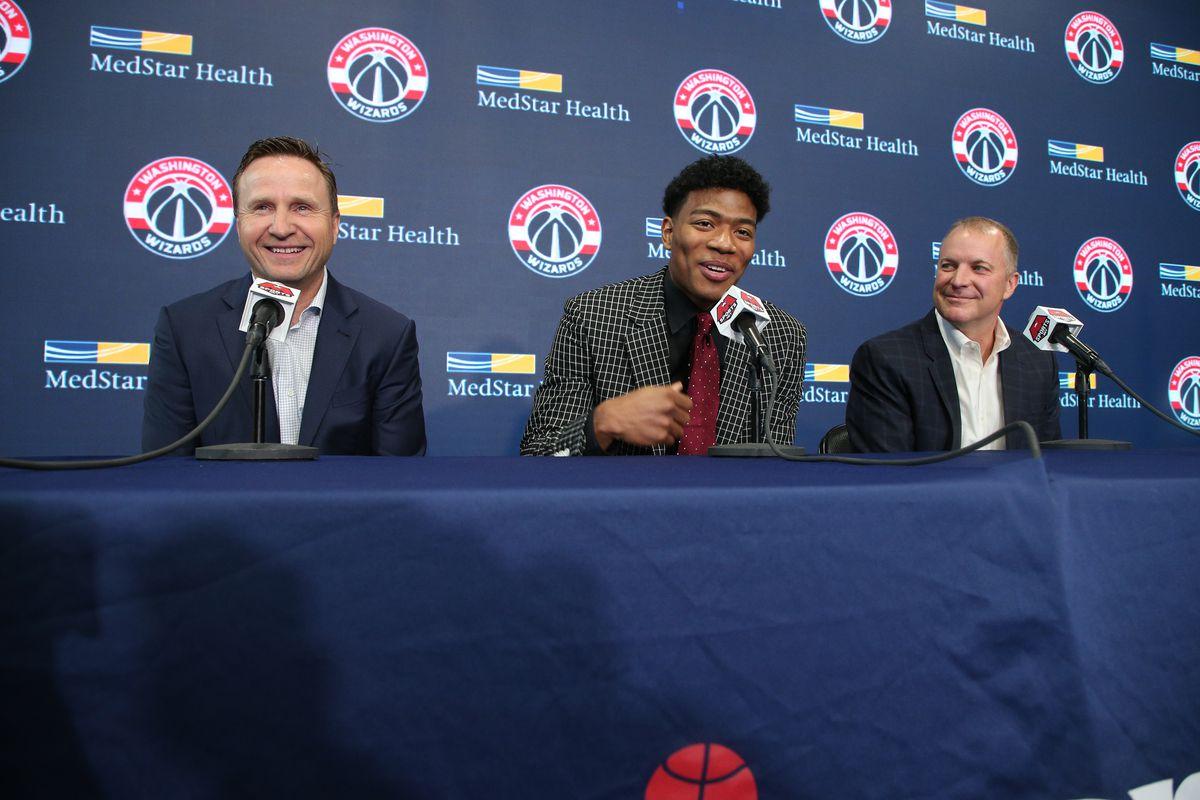 2019 Washington Wizards Draft Press Conference