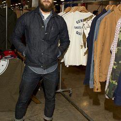 "Blair Lucio, owner of La Brea men's boutique <a href=""http://generalquartersstore.com/"">General Quarters</a>."