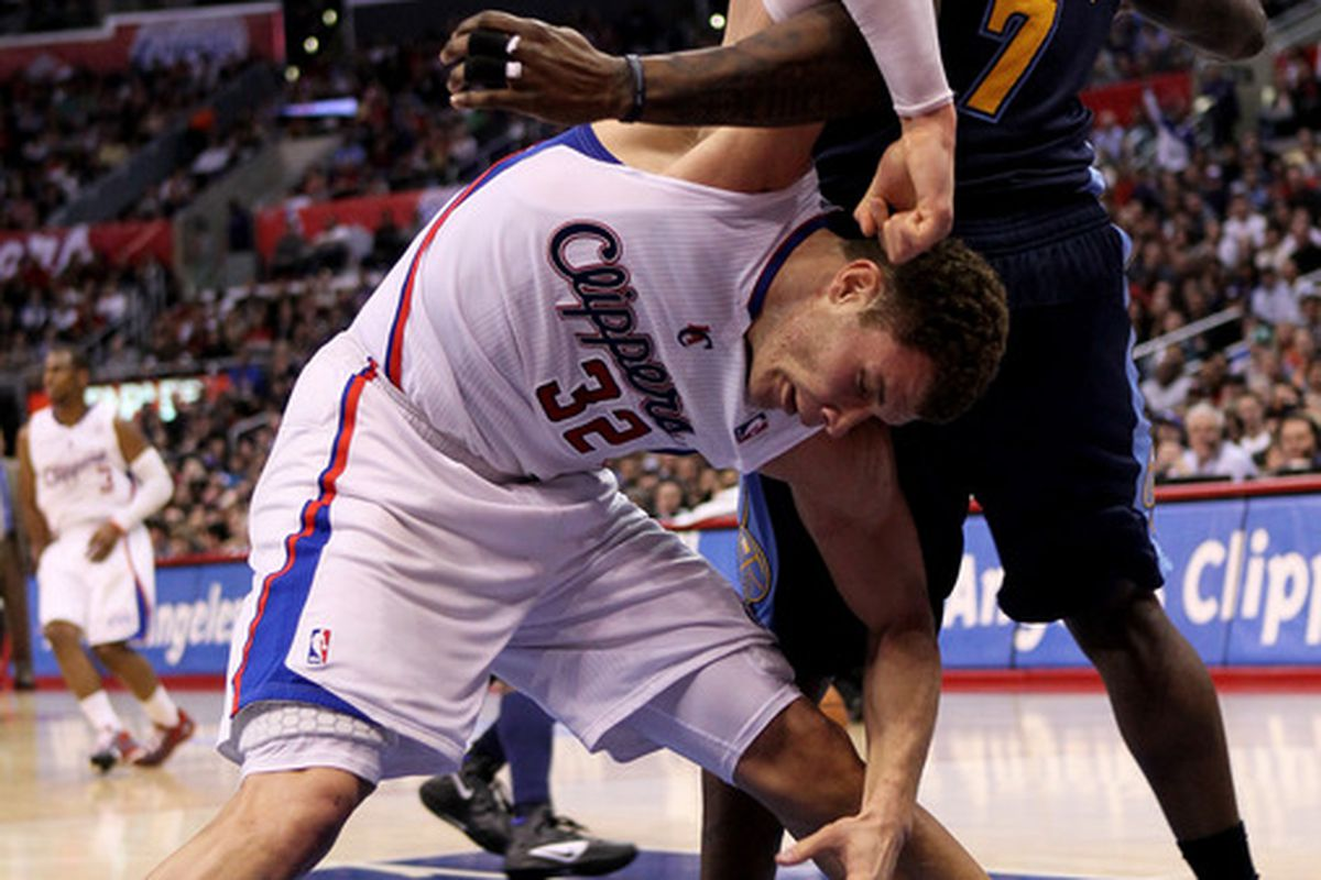 This is how you treat a Blake Griffin. Way to go Big Al!