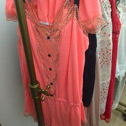 Pink teddy, $35