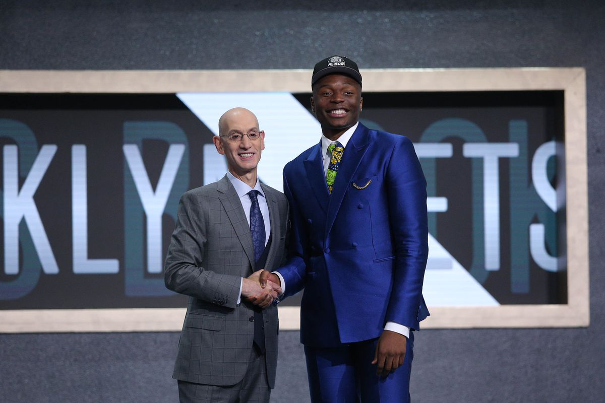 Mfiondu Kabengele wears FSU teammates' names in his jacket at NBA Draft