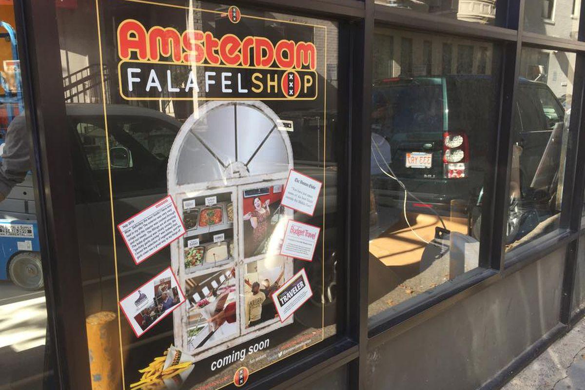 Future home of Amsterdam Falafelshop in Kenmore
