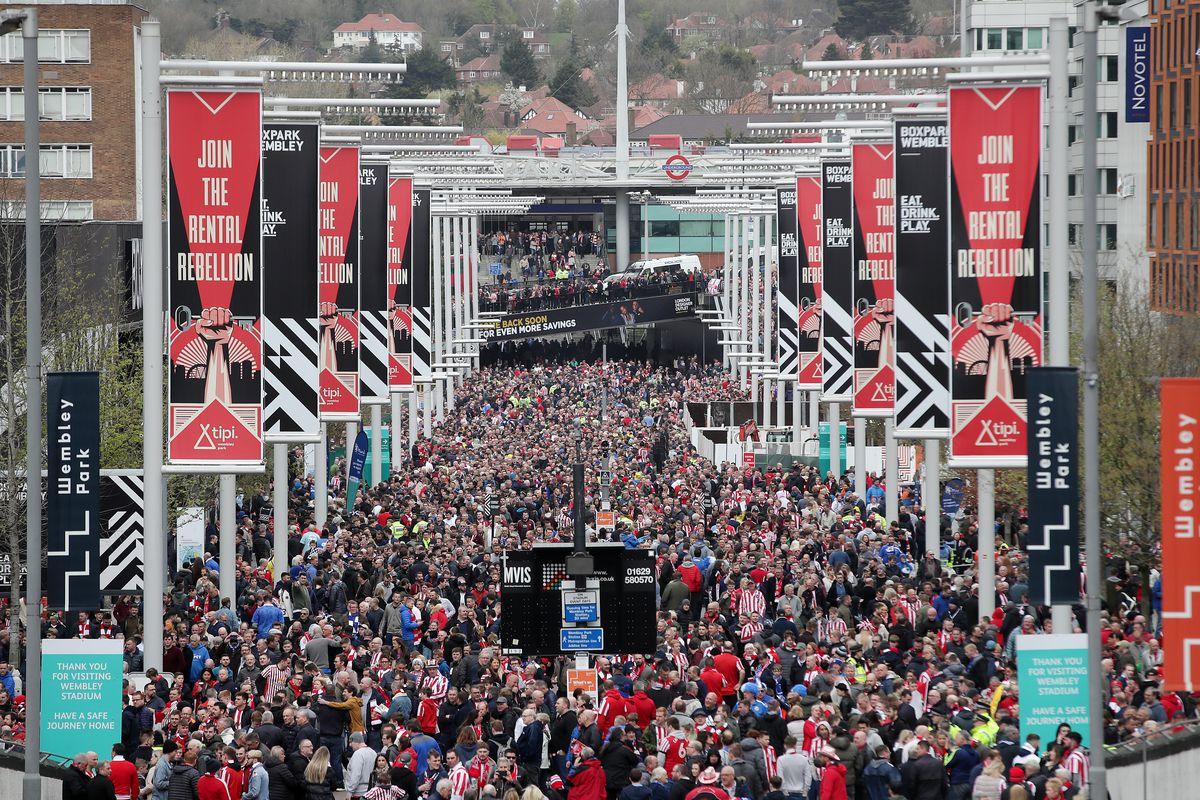 Portsmouth v Sunderland - Checkatrade Trophy - Final - Wembley Stadium