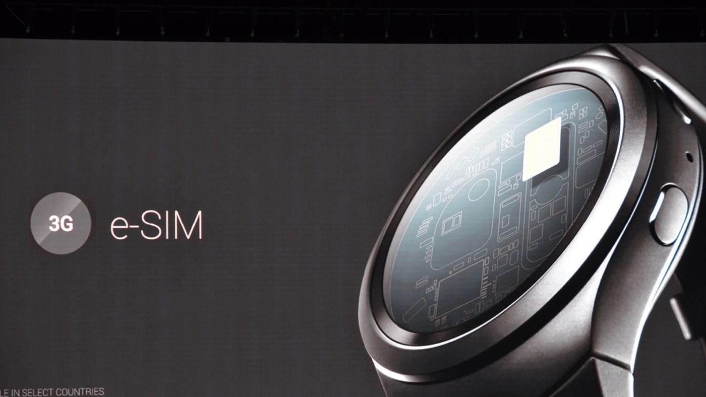 Samsung's Gear S2 has the first certified eSIM that lets you