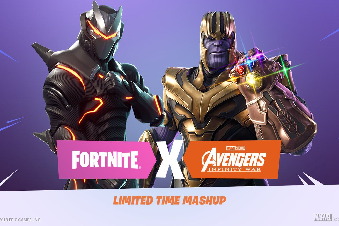 fornite s thanos event was great because it worked for everyone