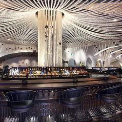 The bar at Javier's.