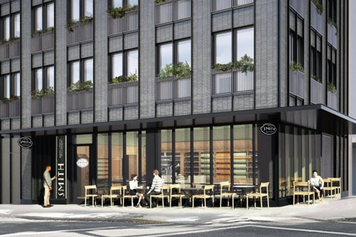 A rendering of the new Smith Teamaker shop in Northwest Portland