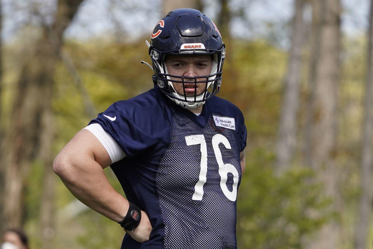 The Bears signed Teven Jenkins on Wednesday.