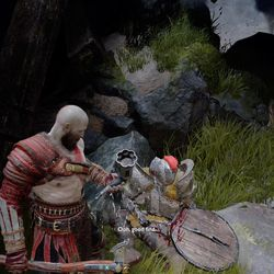 God of War guide: Veithurgard and Stone Falls walkthrough