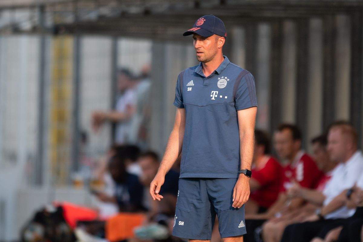 Bayern Munich II coach Sebastian Hoeneß