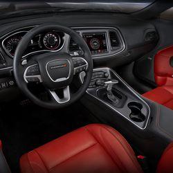 2018 Dodge Challenger SXT Plus (shown in Ruby Red/Black)