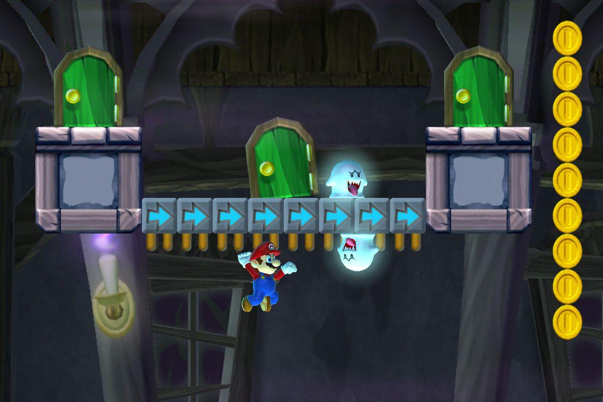Super Mario Run - underground screenshot