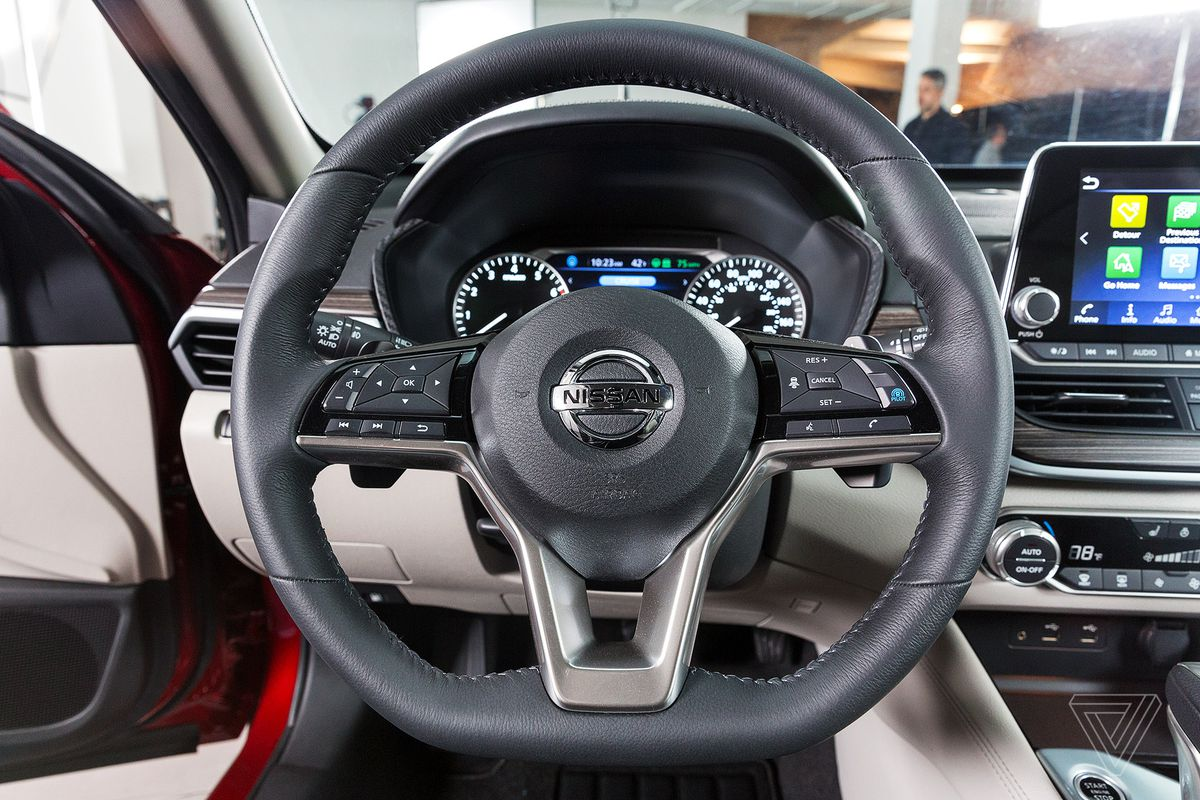 Nissan's new Altima offers highly automated driving without