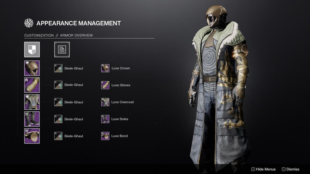 Destiny 2 Transmog preview