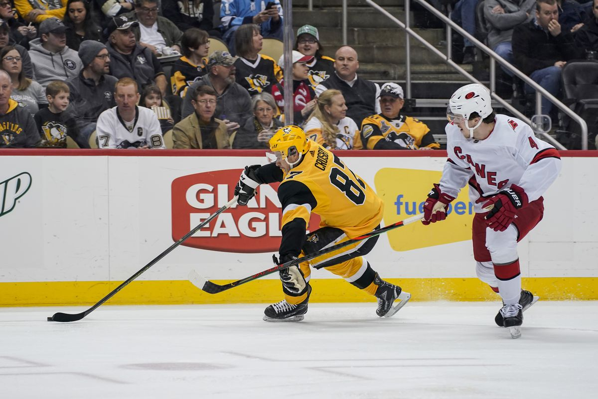 NHL: MAR 08 Hurricanes at Penguins