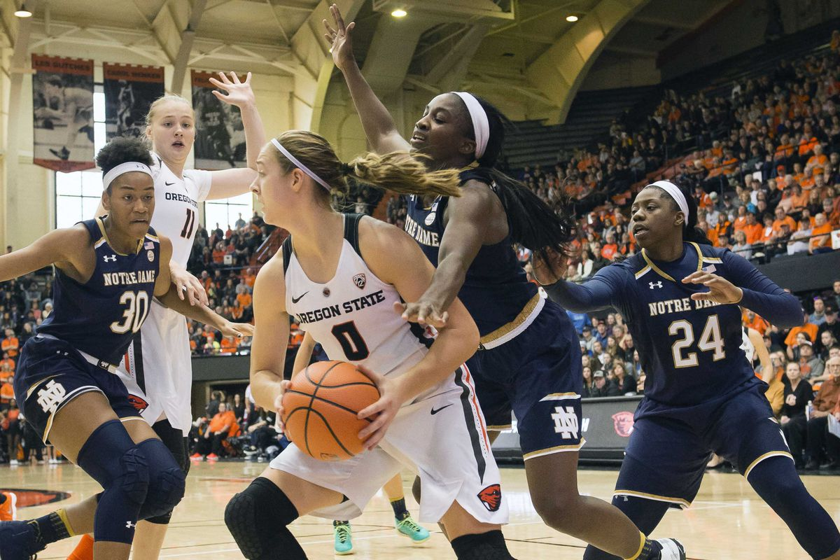 NCAA Womens Basketball: Notre Dame at Oregon State