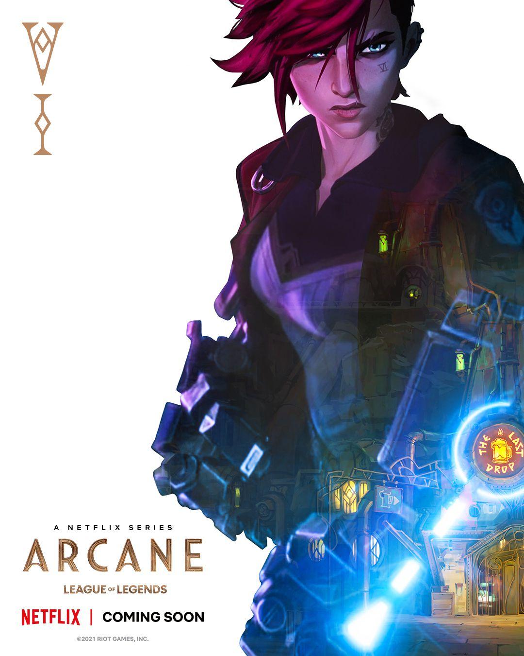 Vi poster for Arcane