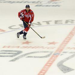 Alzner At Center Ice