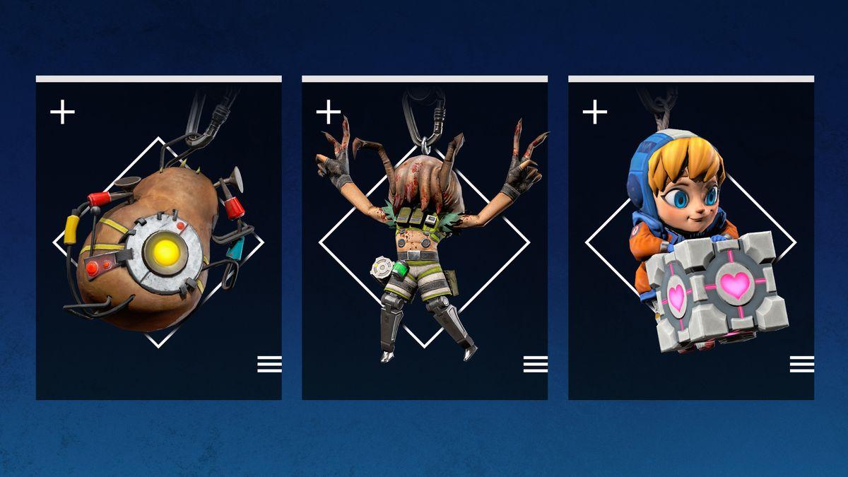 Three virtual tchotchkes for Apex Legends