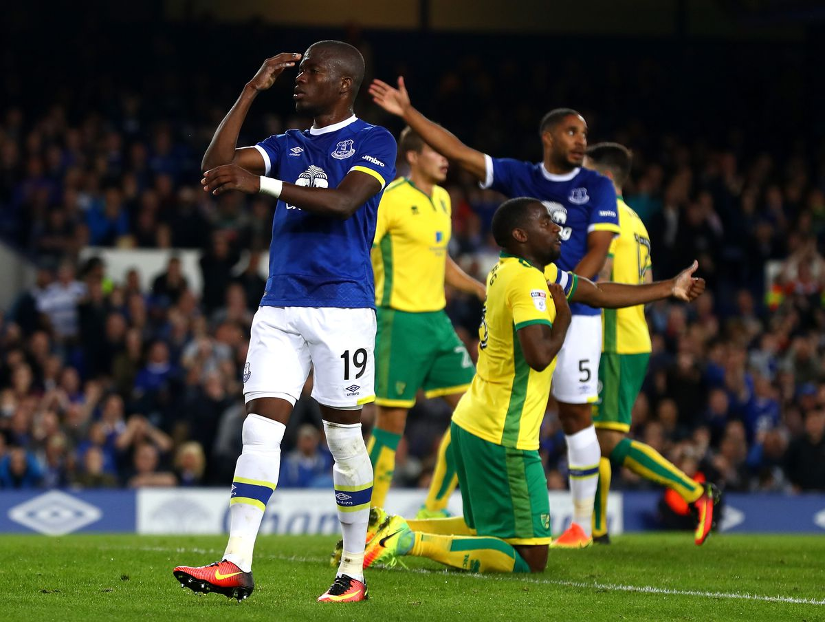 Everton v Norwich City - EFL Cup Third Round