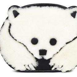 Caution to the Wind Polar Bear Crossbody ($298)