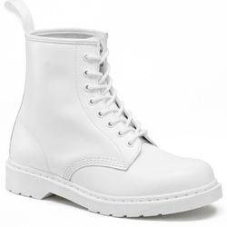 """Dr. Martens white 1460 boot, <a href=""""http://assemblynewyork.com/collections/new-arrivals/products/white-1460-boot"""">$125</a> at Assembly New York"""