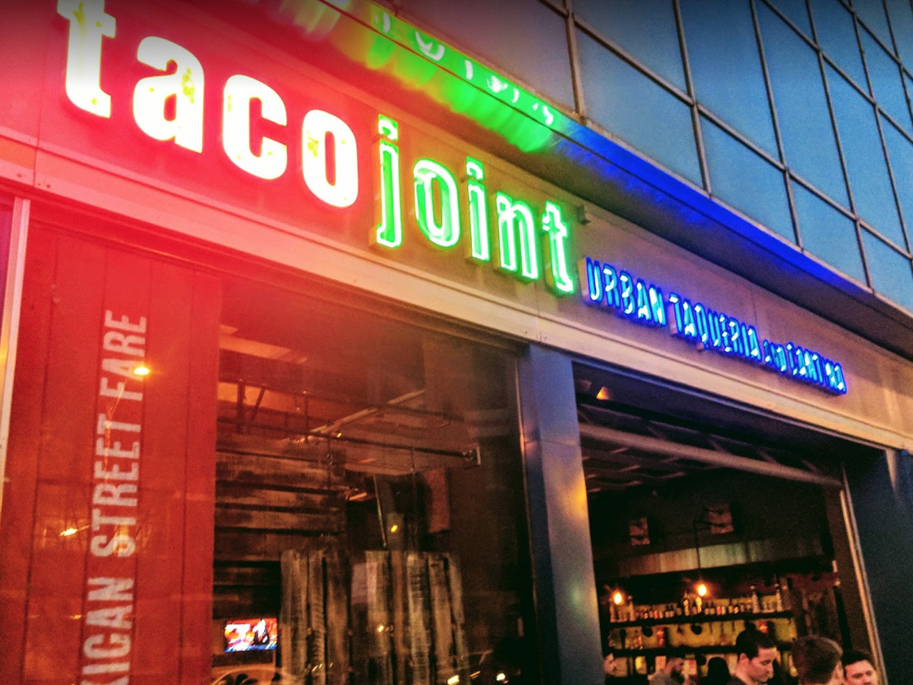 Taco Joint is closed in River North.