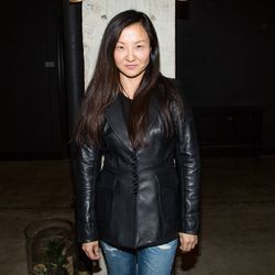 """""""Thomas Edison once said his invention came from 1% inspiration and 99% perspiration. I find inspiration through observing life, of people, art, music and vintage denim."""" -Catherine Ryu, women's creative director at Citizens of Humanity"""