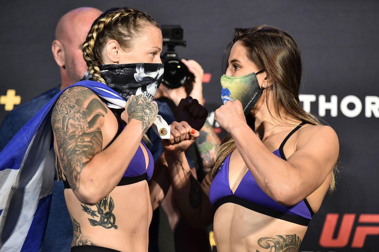 UFC Fight Night Brunson v Shahbazyan: Weigh-Ins