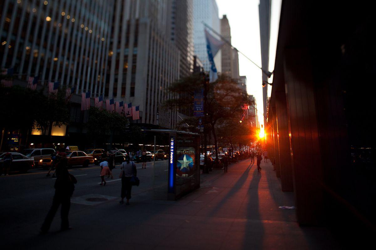 Manhattanhenge (Flickr)