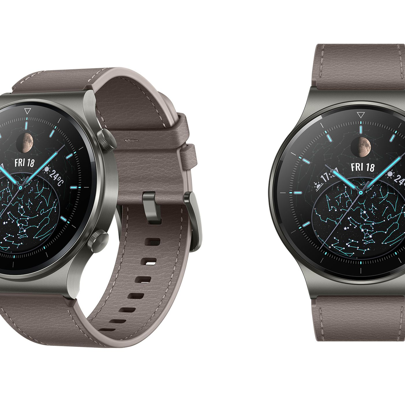 Huawei Adds Qi Wireless Charging To Its Watch Gt 2 Pro Smartwatch The Verge