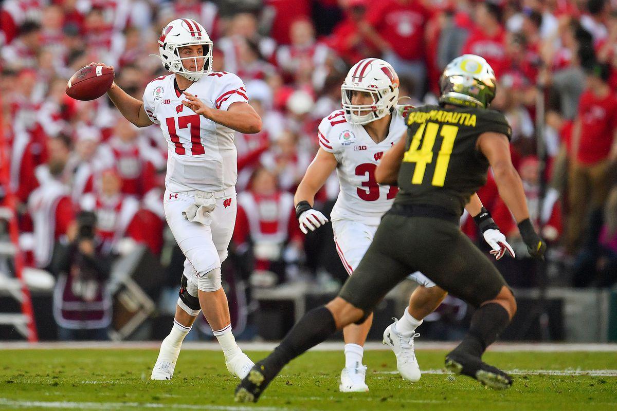 Wisconsin Badgers football: quarterback 2019 review, 2020 ...