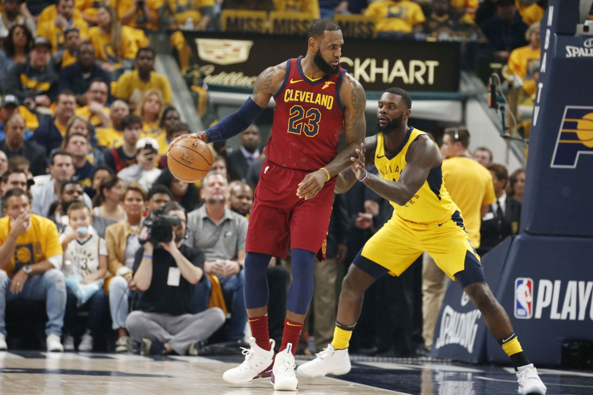 bd61453b987 Cavaliers vs. Pacers 2018 results  Cleveland stays alive behind ...