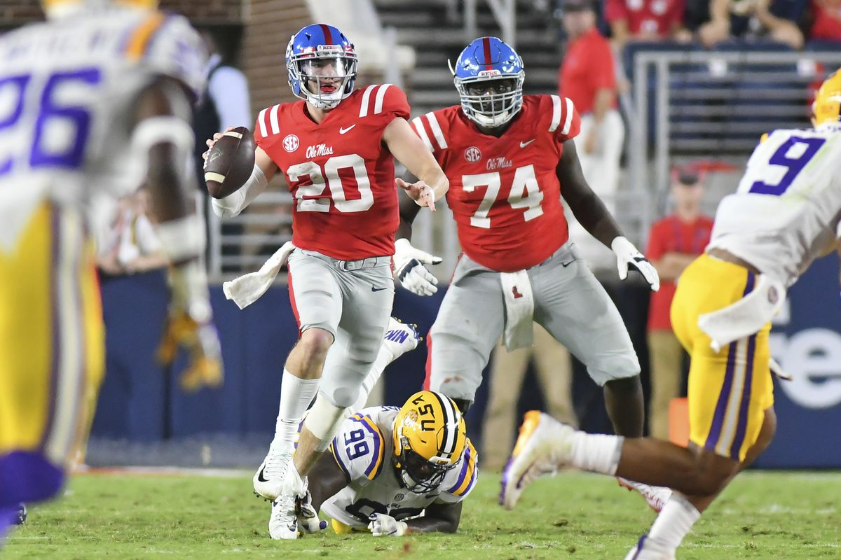 Ole Miss thrown out of the building by LSU