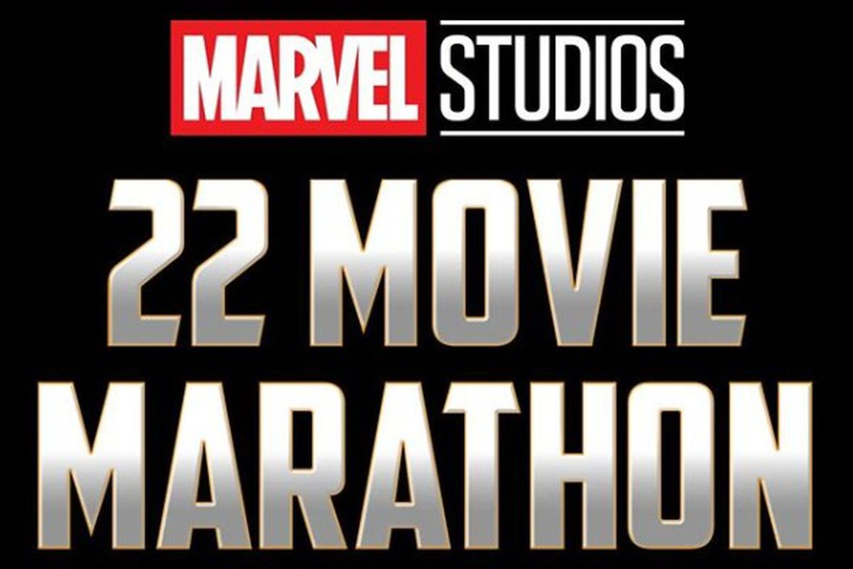 This Marvel marathon is 22 movies and 59 hours  Here's how I