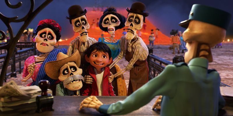 Miguel's family in Coco