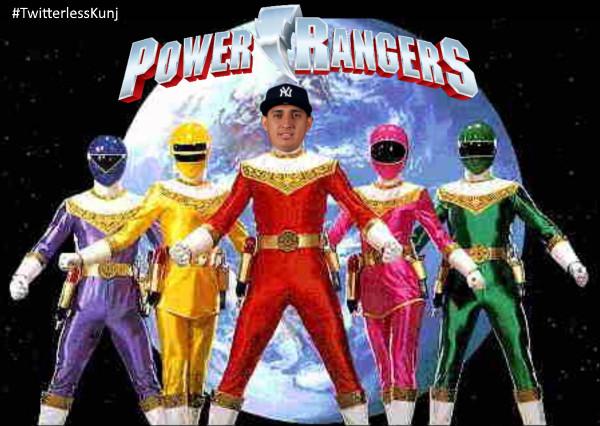 Power Rangers Gio