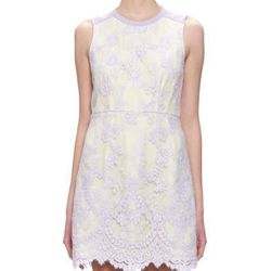 """<a href=""""http://www.whistles.co.uk/fcp/categorylist/dept/clothing-dresses?resetFilters=true#product=903000059810"""">Whistles</a> Ella lace dress, $321.75"""